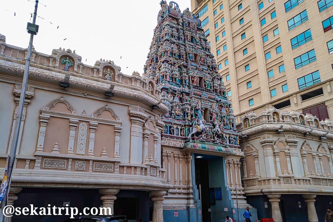 クアラルンプールのスリ・マハ・マリアマン寺院(Sri Maha Mariamman Temple)