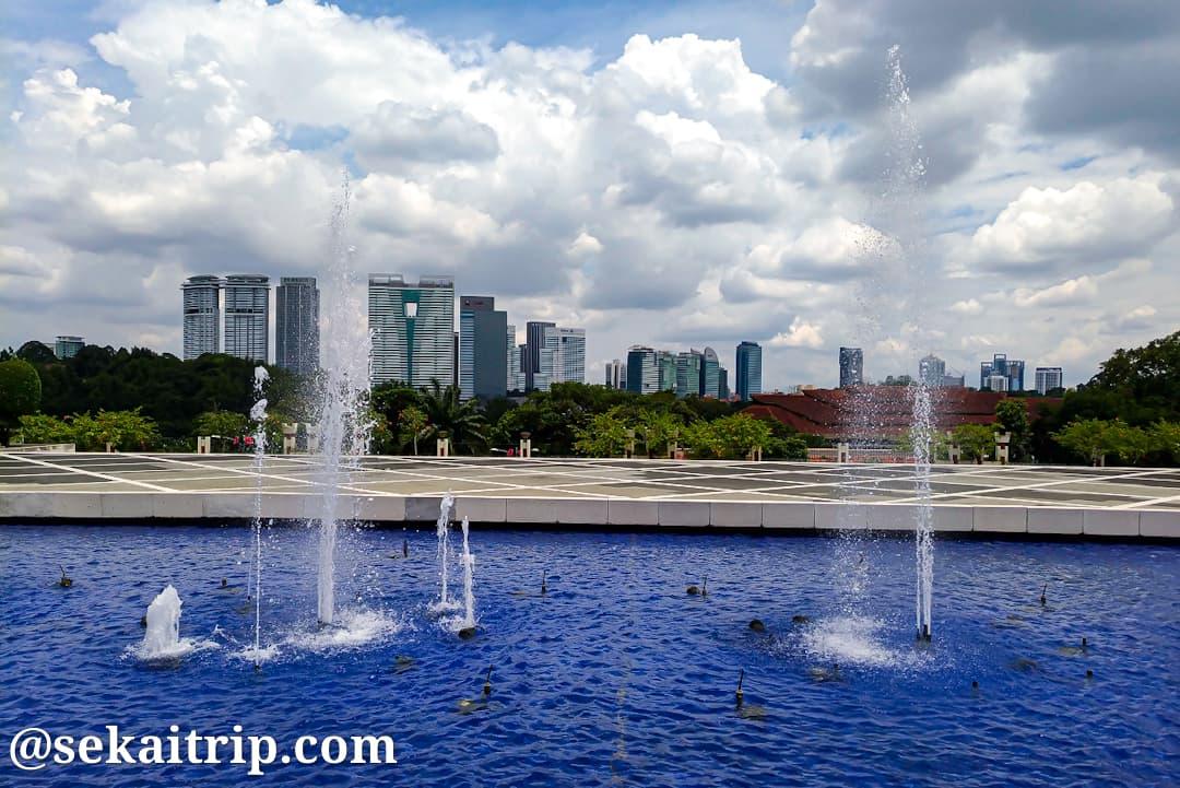 国家記念碑(Tugu Negara)から見た景色