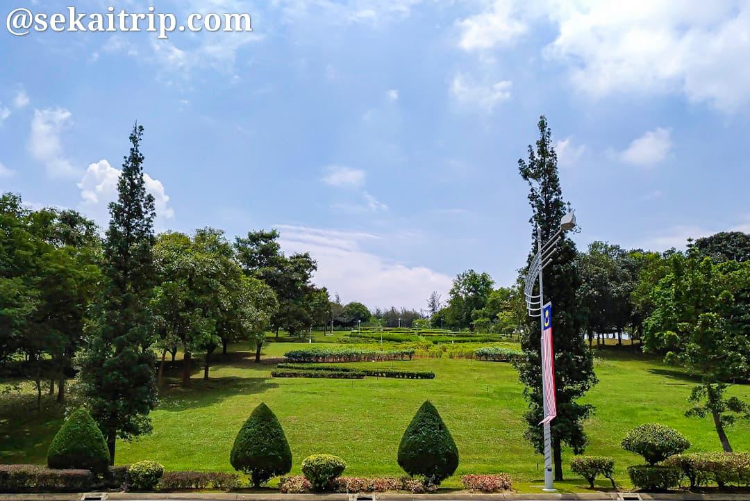 プトラ・ペルダナ庭園(Taman Putra Perdana)
