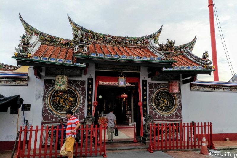 チェン・フー・テン寺院(Cheng Hoon Teng Temple)