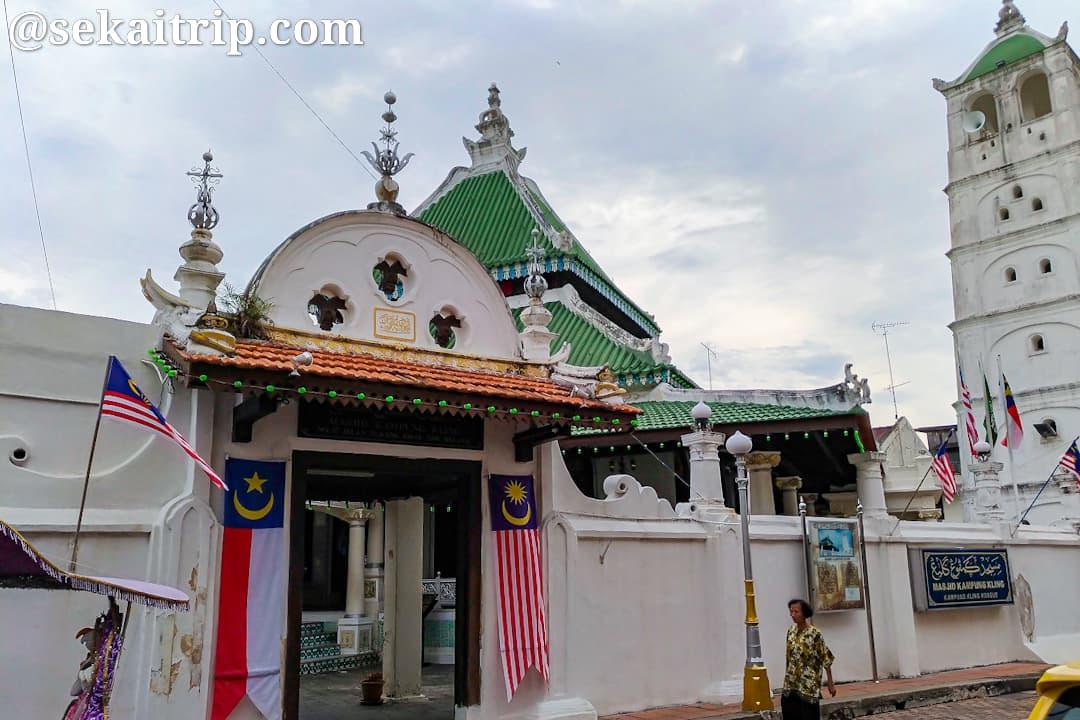 カンポン・クリン・モスク(Masjid Kampung Kling)