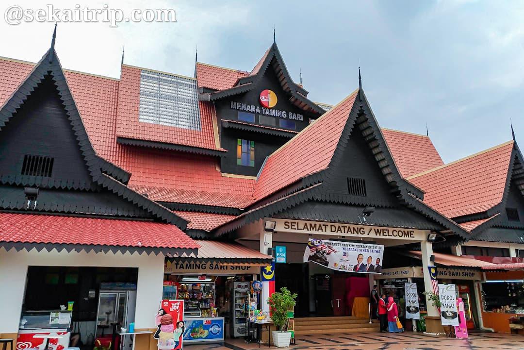 マラッカタワー横のマーケット