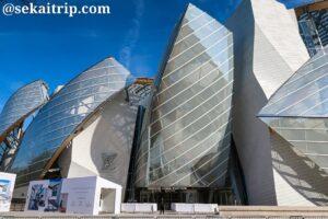 ルイ・ヴィトン財団の美術館(Fondation Louis Vuitton)