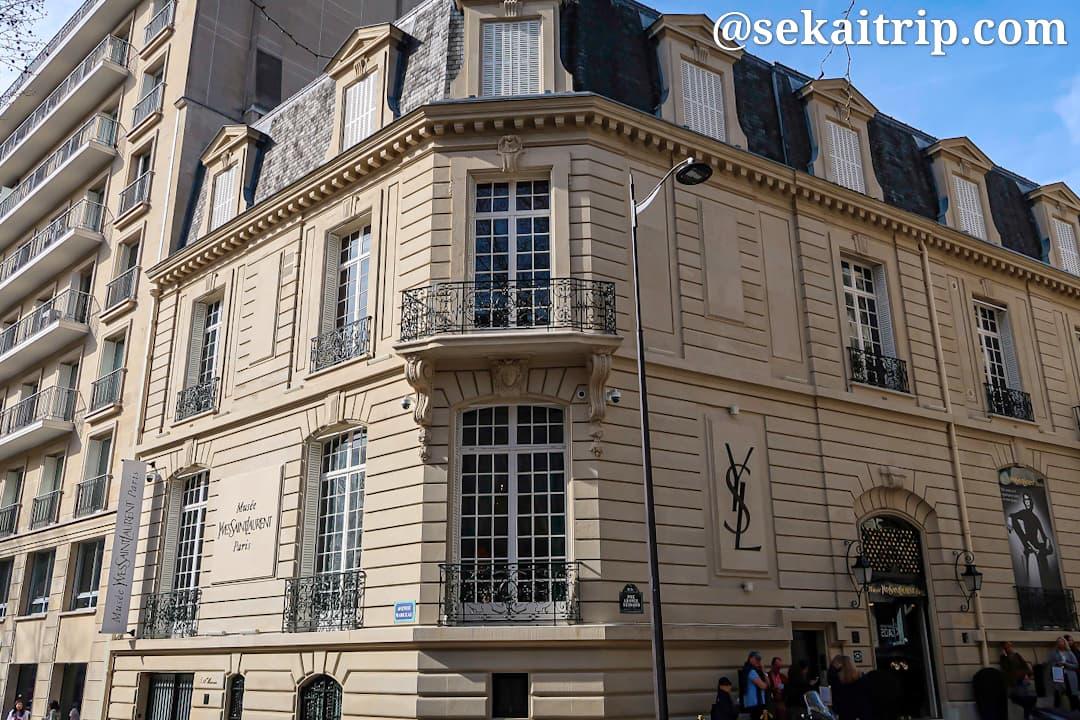 イヴ・サンローラン美術館(Musée Yves Saint Laurent)