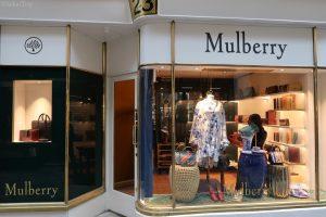 バーリントン・アーケード(Burlington Arcade)のマルベリー