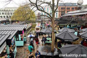 カムデン・ロック・マーケット(Camden Lock Market)の屋台街