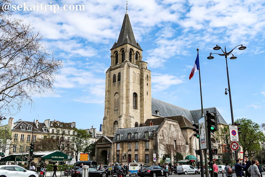 サンジェルマン・デ・プレ教会(Église de Saint Germain des Prés)