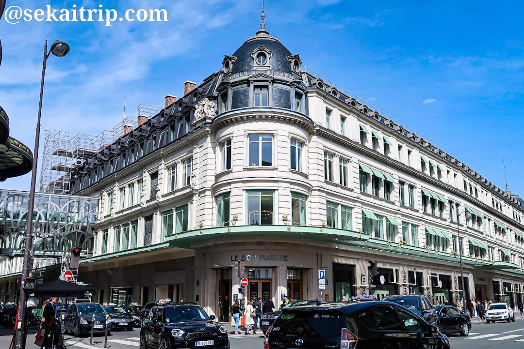 ボン・マルシェ百貨店(Le Bon Marché Rive Gauche)の外観