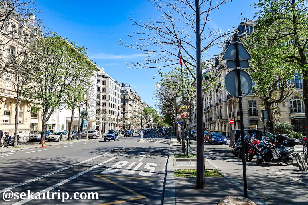 モンテーニュ通り(Avenue Montaigne)