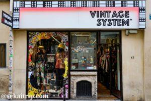 マレ地区の古着屋さん(VINTAGE SYSTEM)