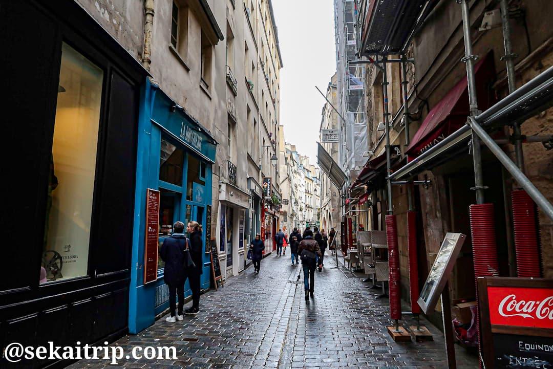パリのマレ地区