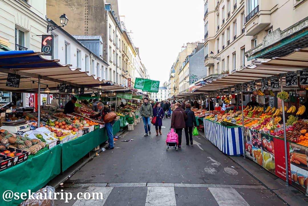 アリーグル市場(Marché d'Aligre)