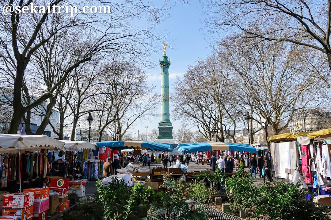 バスティーユ市場(Marché Bastille)