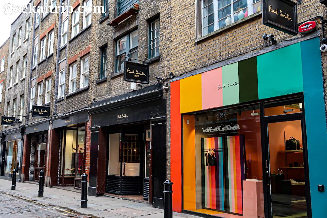 ポール・スミス(Paul Smith)のロンドン一号店