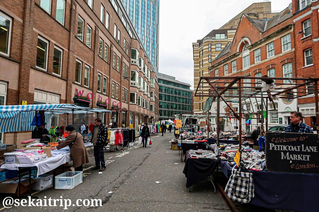 ペチコート・レーン・マーケット(Petticoat Lane Market)