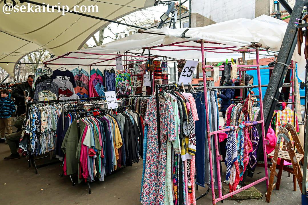 ポートベロー・グリーン・マーケット(Portobello Green Market)