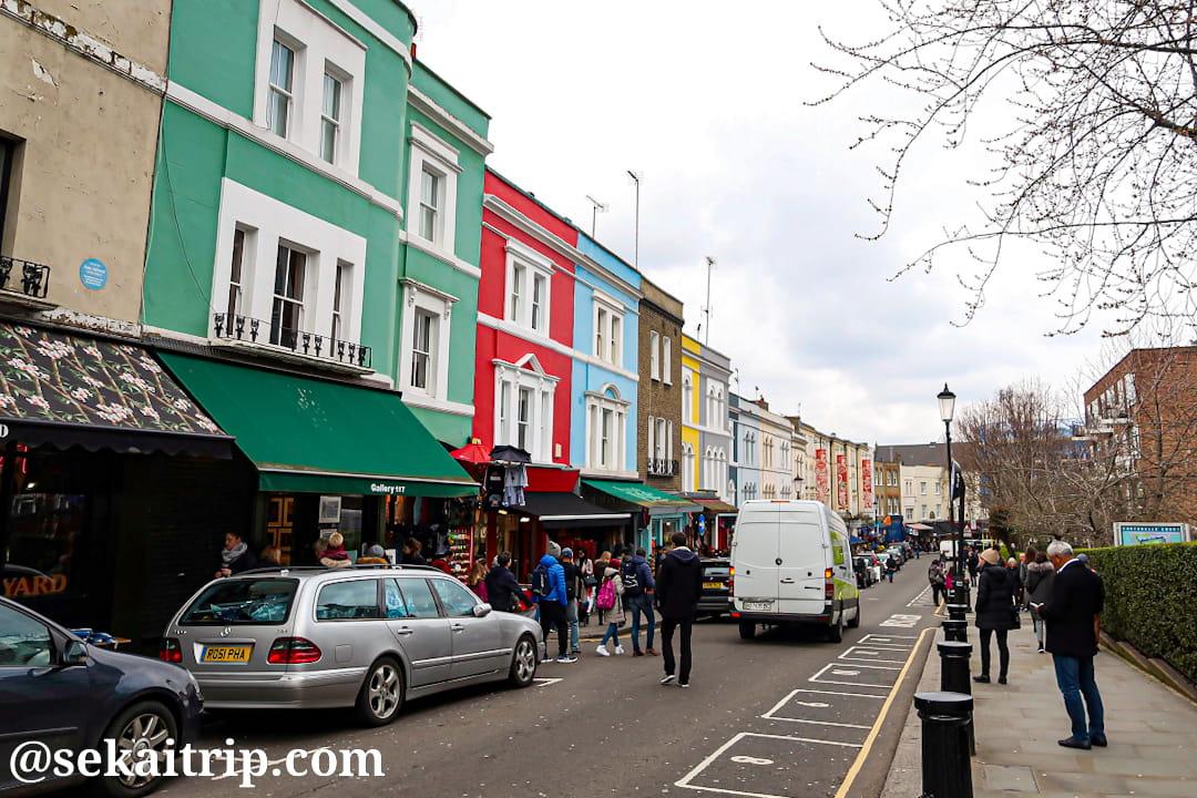ポートベロー・ロード・マーケット(Portobello Road Market)
