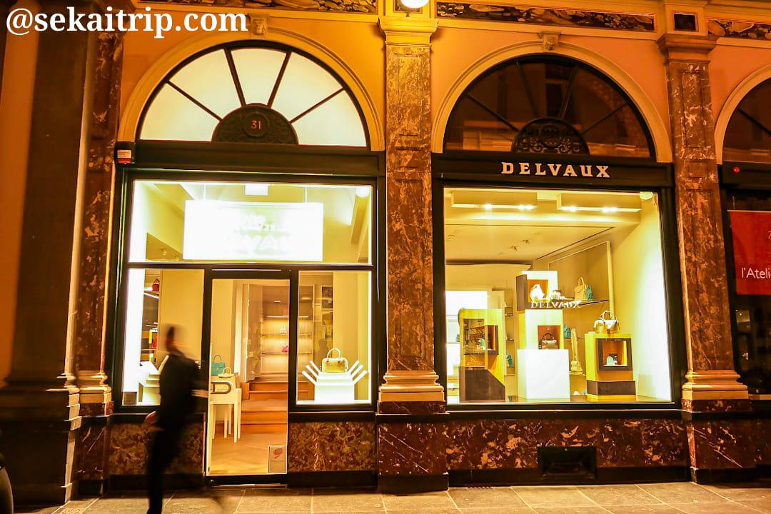デルヴォー(DELVAUX)のブリュッセル本店
