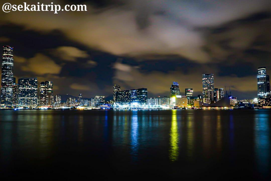 セントラル・ピアーズから見た夜景(尖沙咀方面)