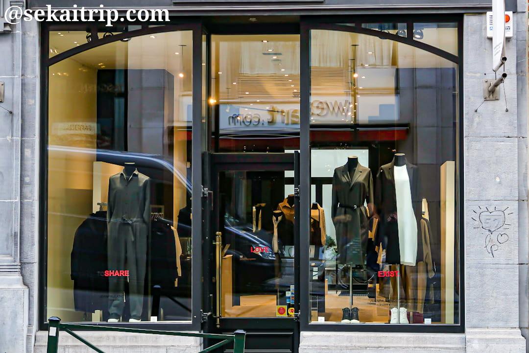 ブリュッセルのジャンポールノット(JEANPAULKNOTT)本店