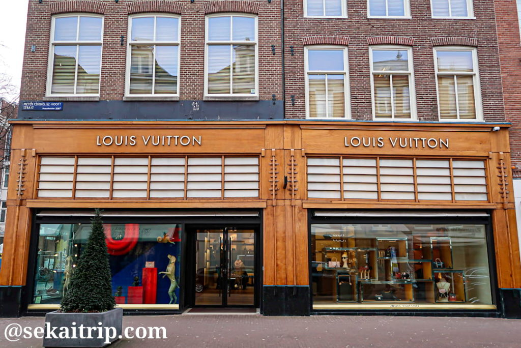 アムステルダムのルイ・ヴィトン