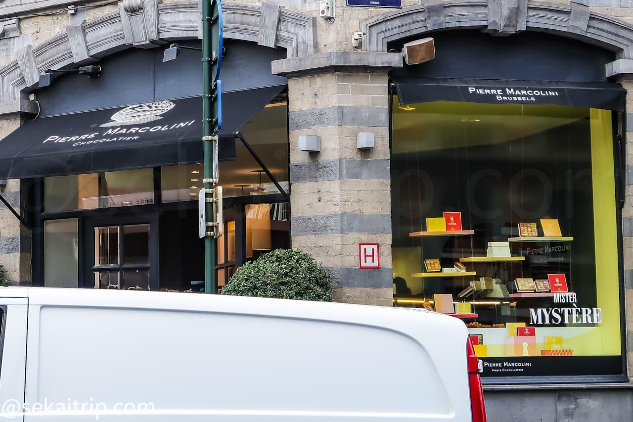 ピエール・マルコリーニ(PIERRE MARCOLINI)本店