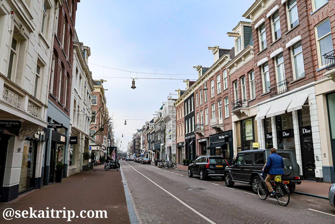 ピーテル・コネリス・ホーフト通り(Pieter Cornelisz Hooftstraat)