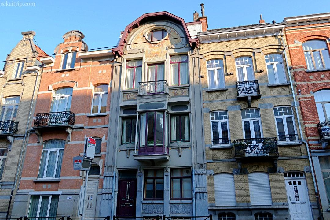 ポール・コーシー設計の建物(Avenue de la Chasse 141)