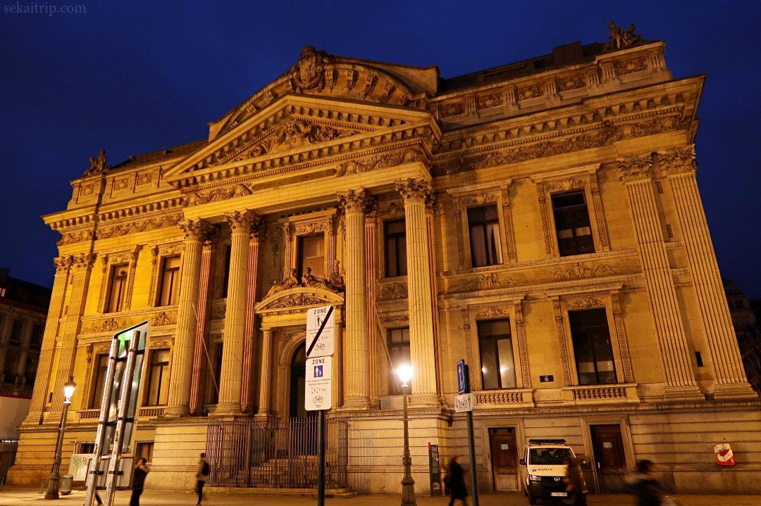ブリュッセル証券取引所(Bourse de Bruxelles)