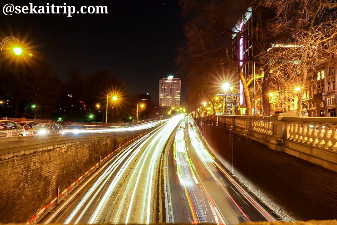 ブリュッセルの環状道路「R20」