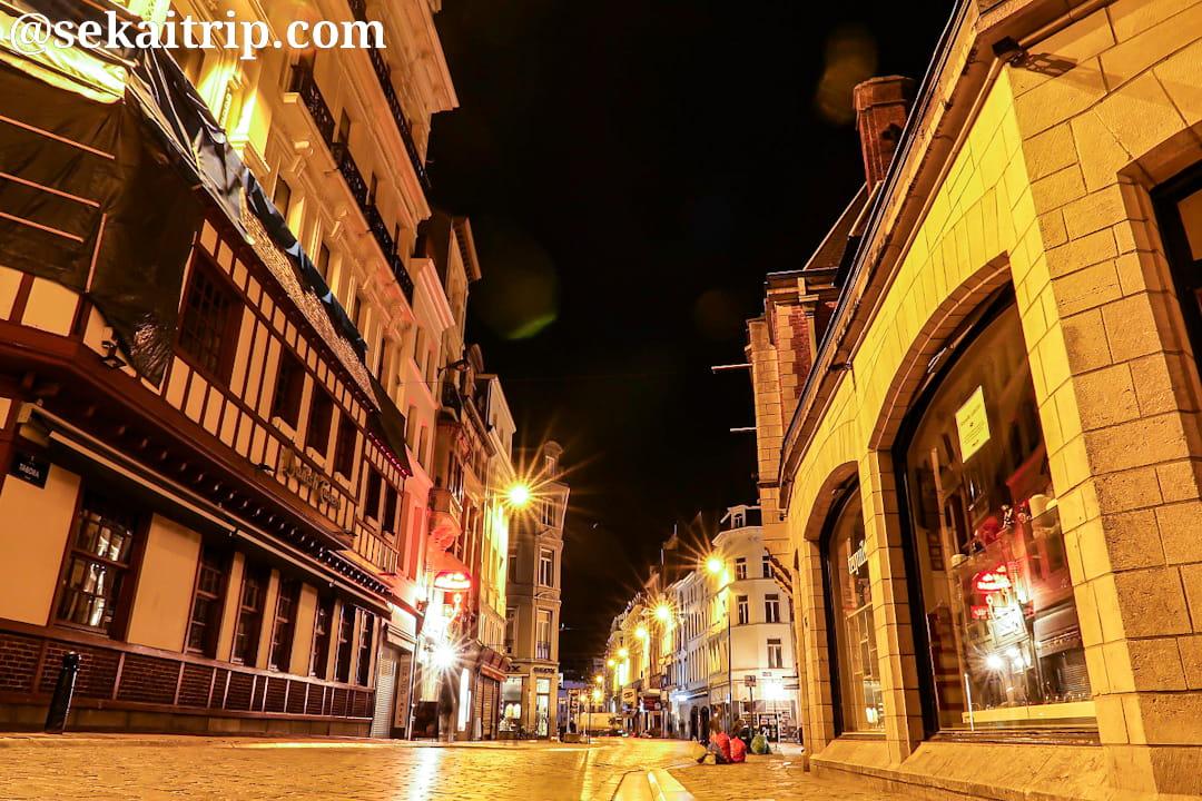ブリュッセルのタボラ通り(Rue de Tabora)