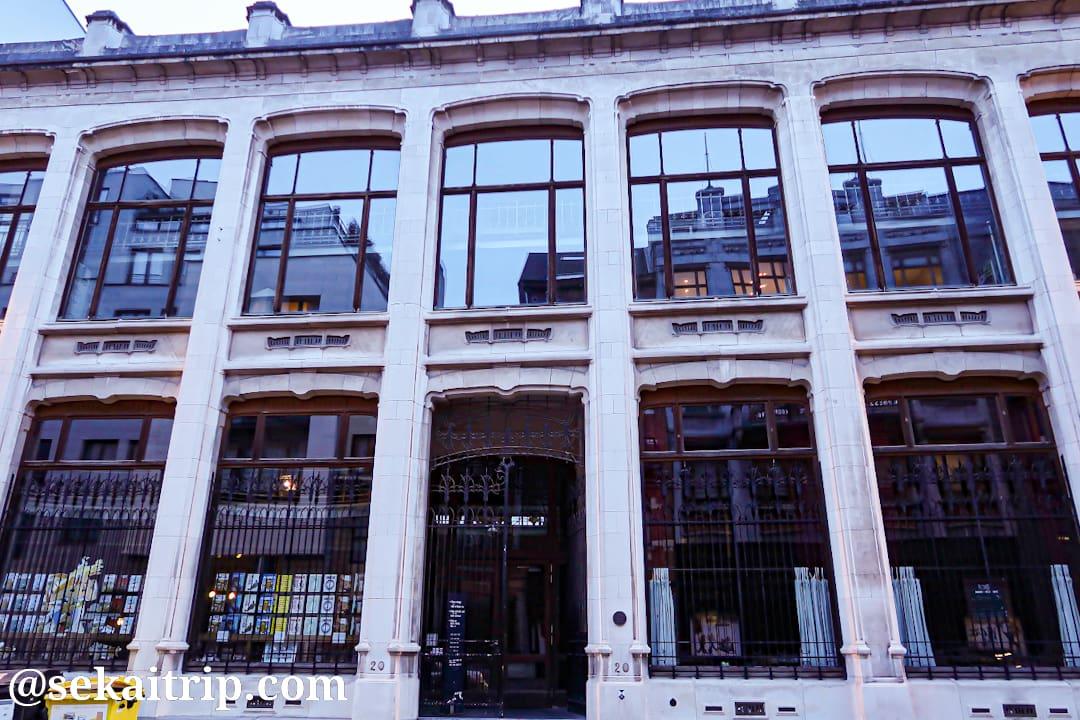ベルギー漫画センター(Centre Belge de la Bande Dessinée)