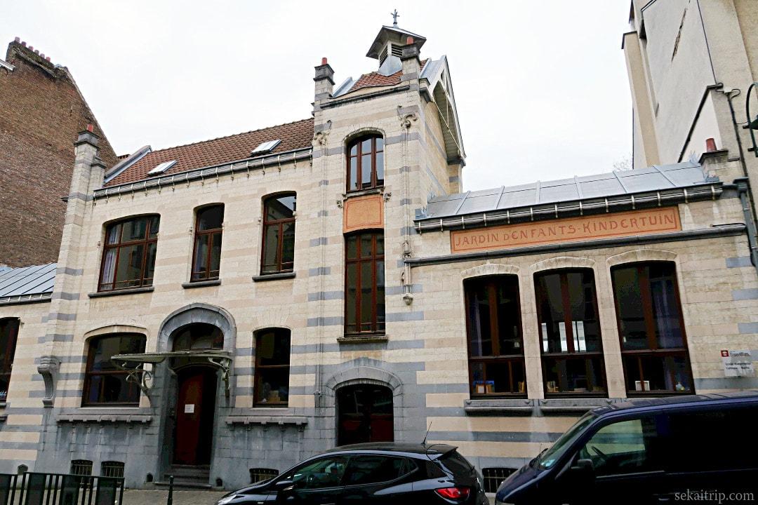 カトー幼稚園(Ecole maternelle Catteau-Victor Horta)