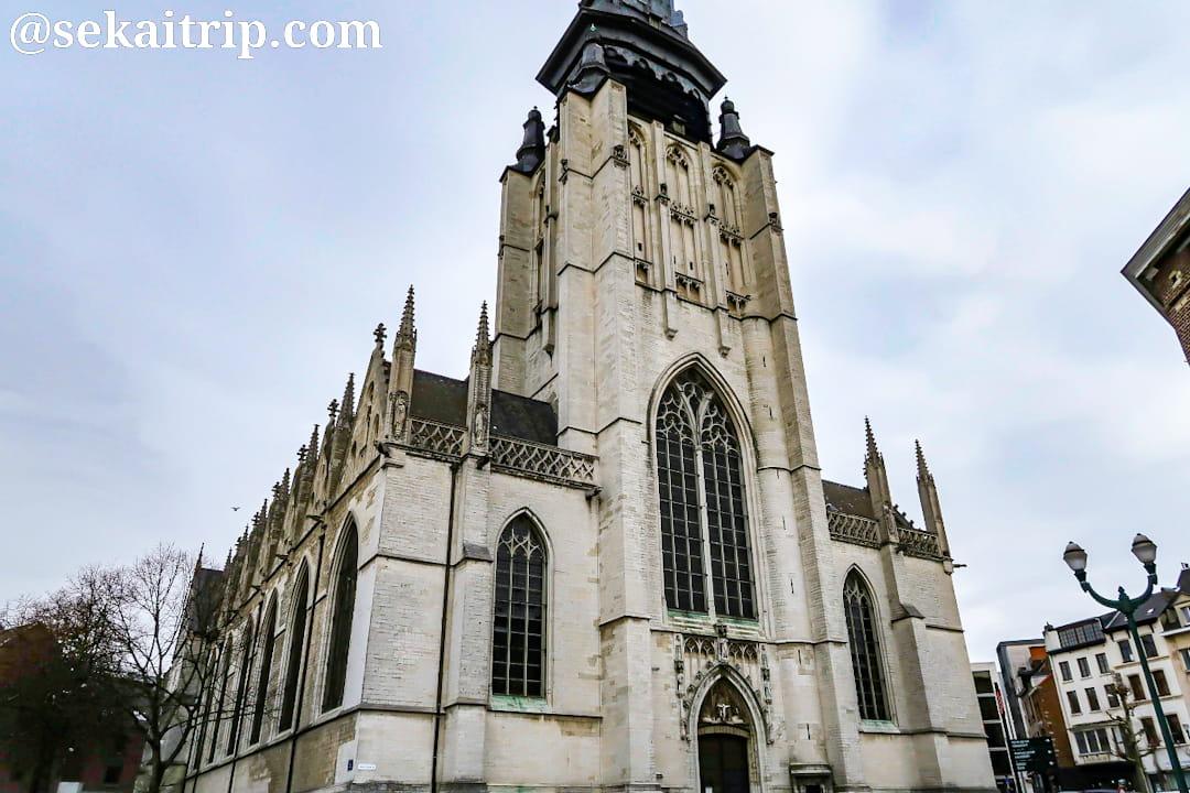 ブリュッセルのノートルダム・ド・ラ・シャペル教会(外観)