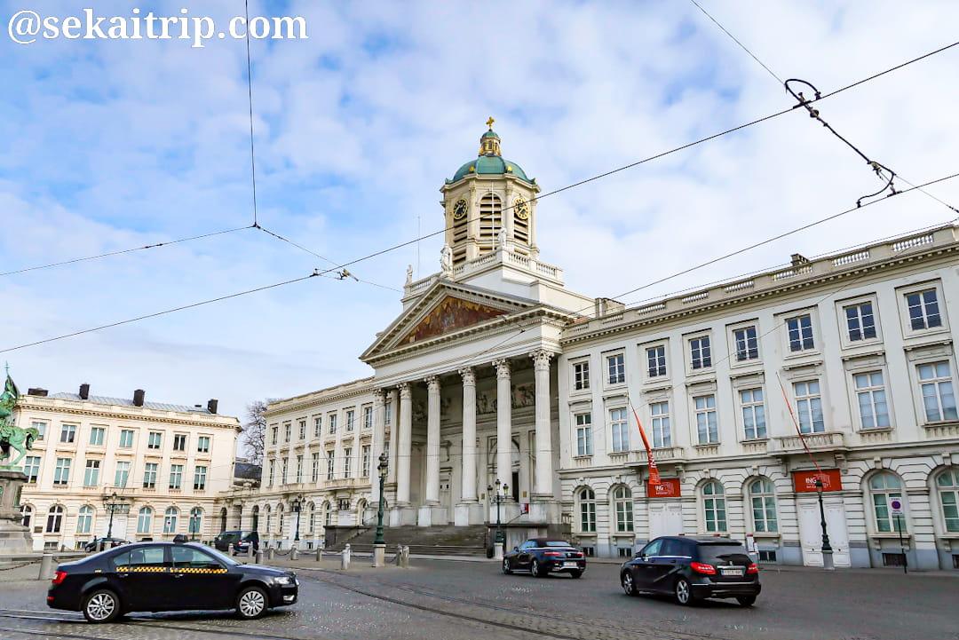 ブリュッセルのサン・ジャック・シュル・クーデンベルグ教会(外観)