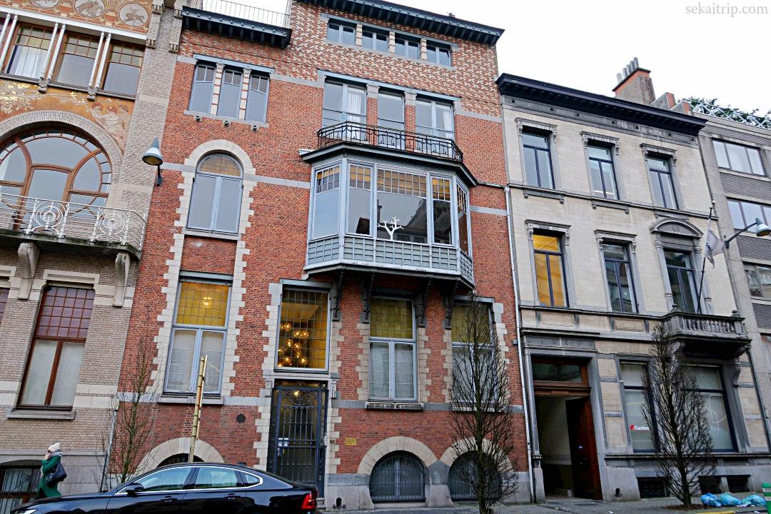 ルネ・ヤンセン邸(Hôtel René Janssens)