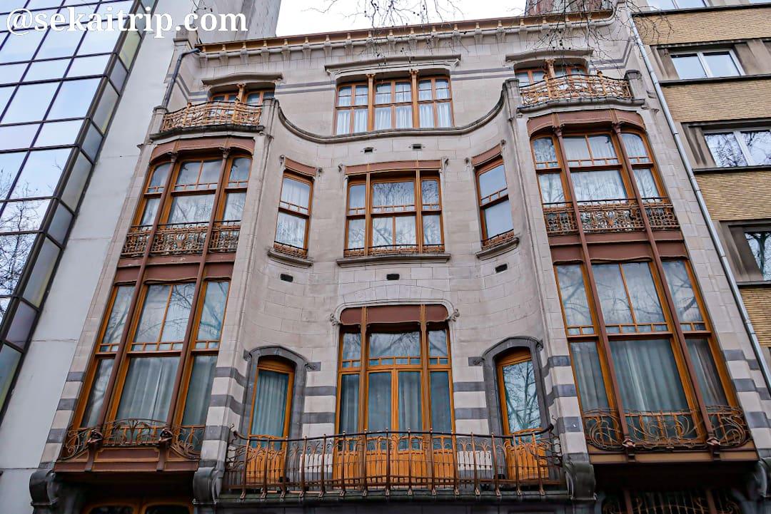 ソルベイ邸(Hôtel Solvay)