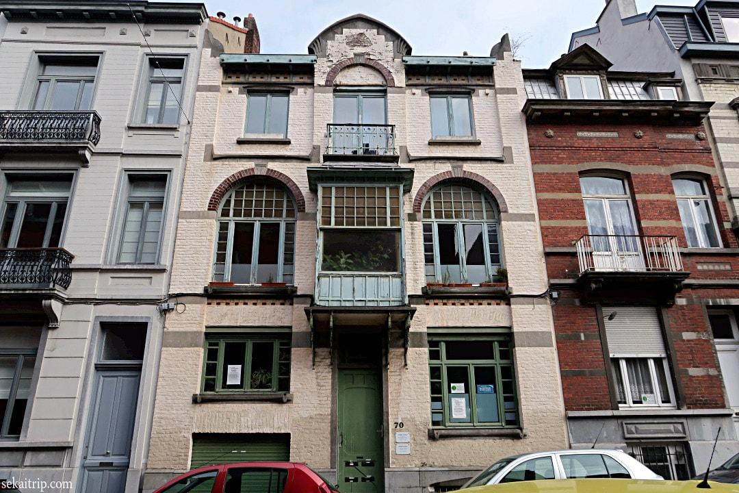 ジャン・ゴーウィルース邸(Maison-atelier de Jean Gouweloos)