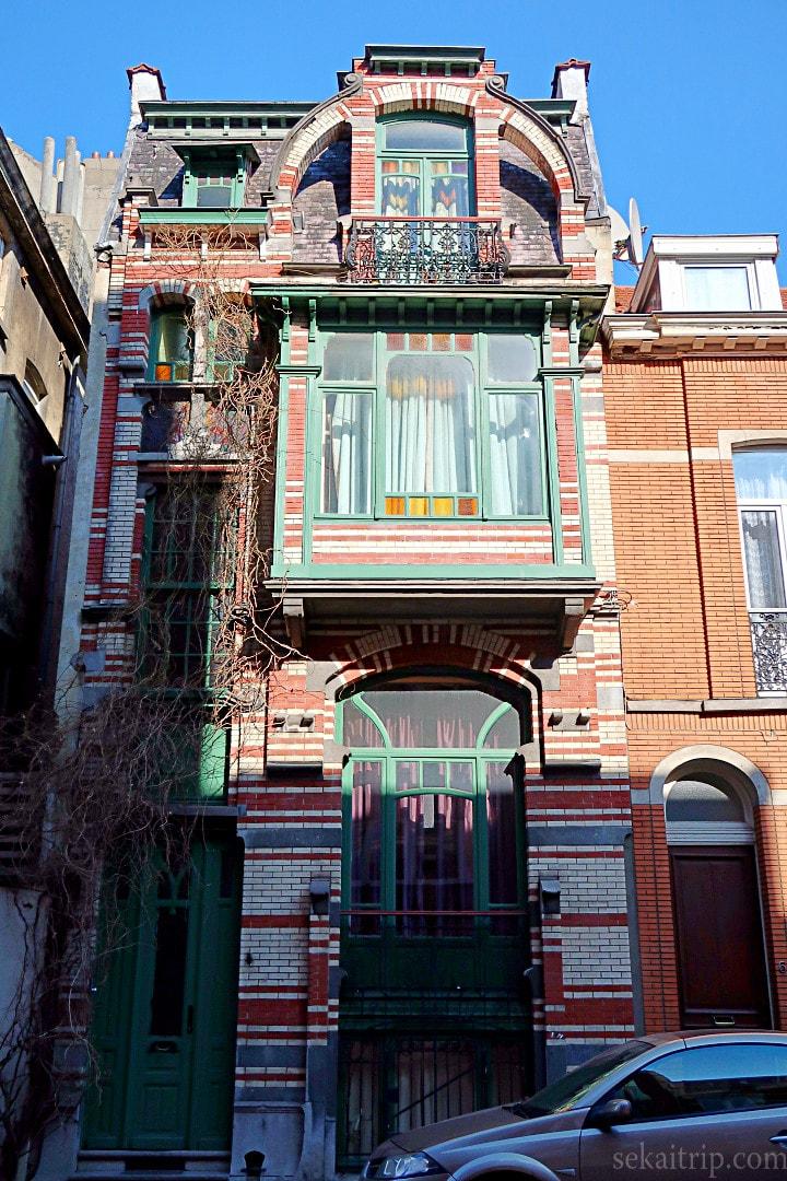ファン・デン・ヘーデ邸(Maison Van den Heede)
