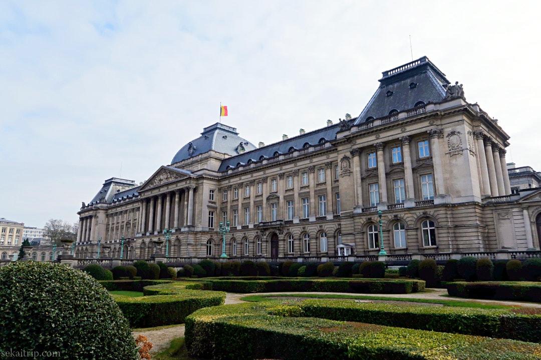 ブリュッセル王宮(Palais de Bruxelles)