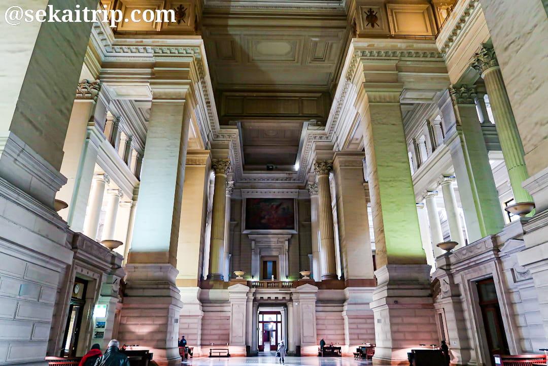 ブリュッセル最高裁判所(Palais de Justice de Bruxelles)の内部