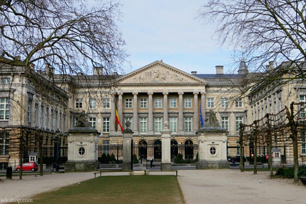 ベルギーの国会議事堂