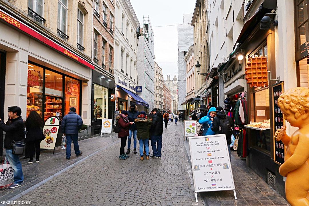 エチューヴ通り(Rue de l'Etuve)