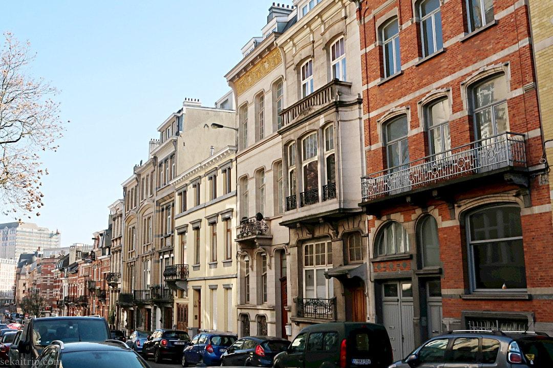 ポール・コーシー等が手掛けた建物(Rue des Francs 17)