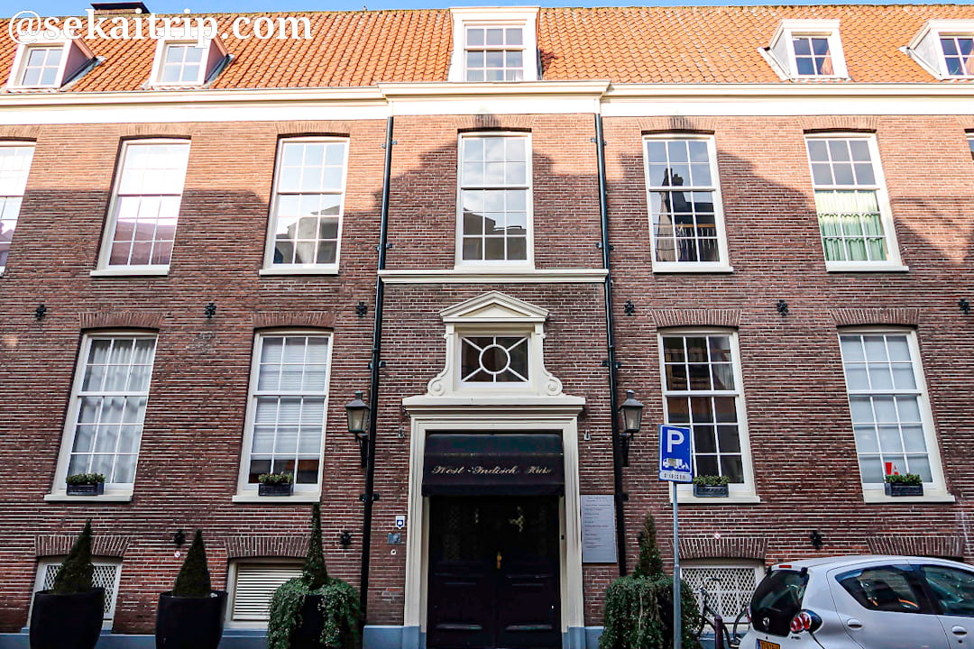 オランダ西インド会社館(Het West-Indisch Huis)