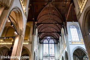 アムステルダム新教会の内部