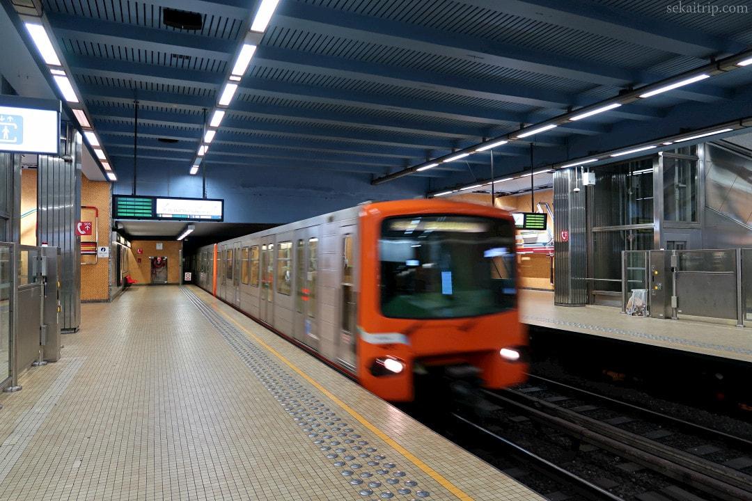 ブリュッセルの地下鉄