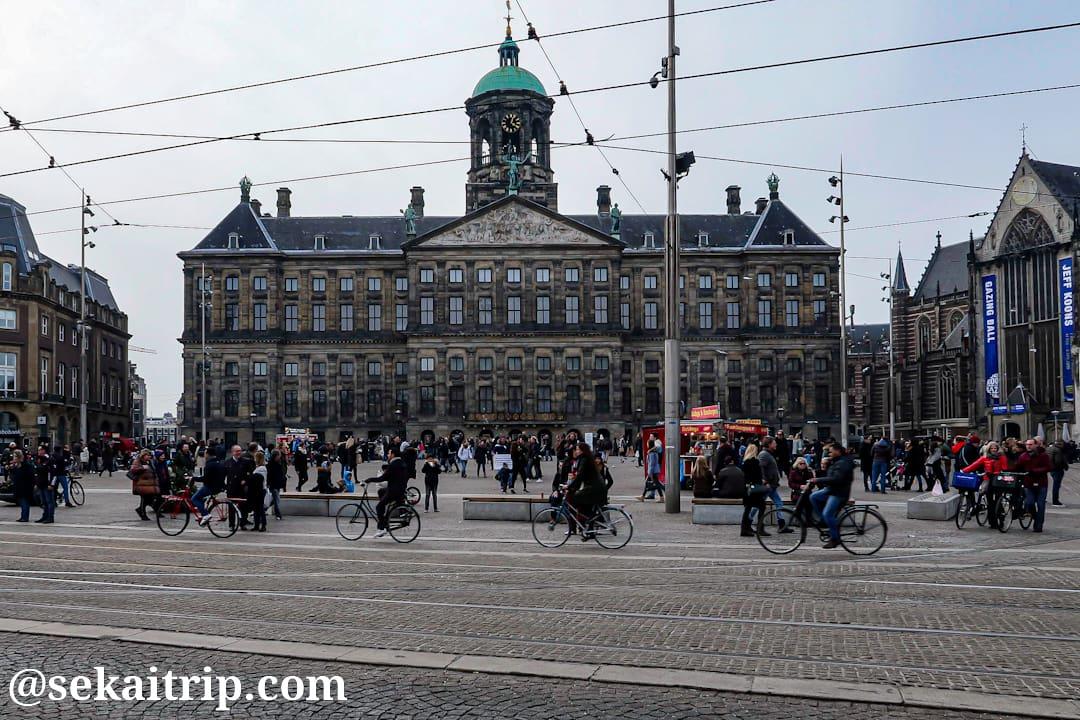 アムステルダムの王宮(Koninklijk Paleis Amsterdam)