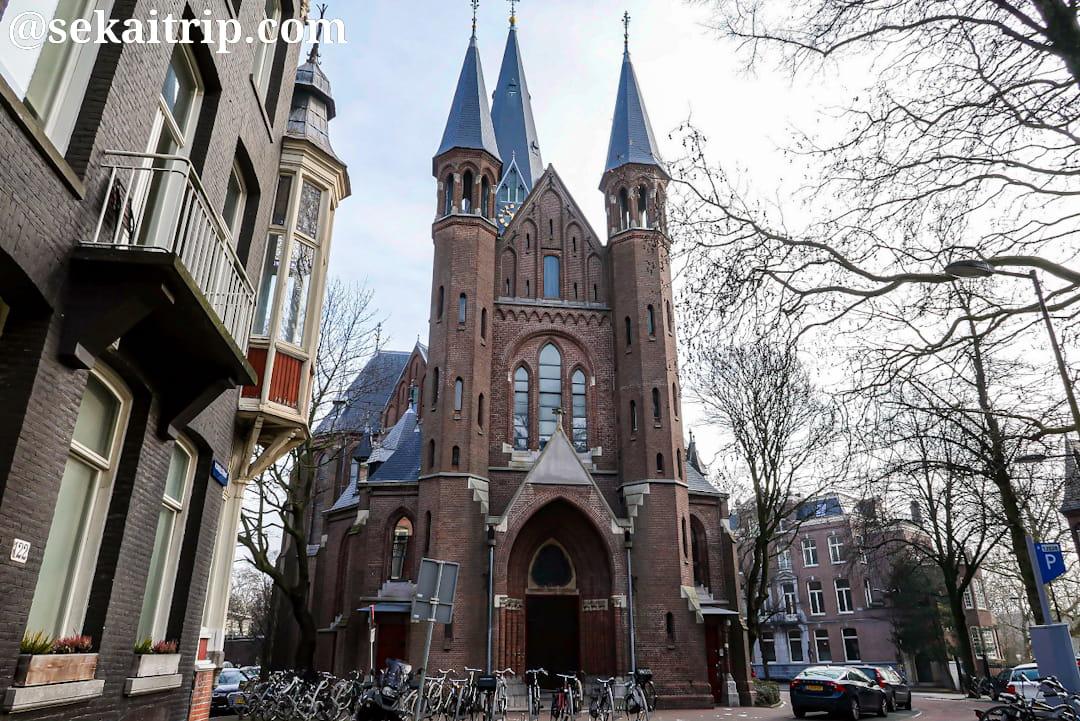アムステルダムのフォンデル教会(Vondelkerk)