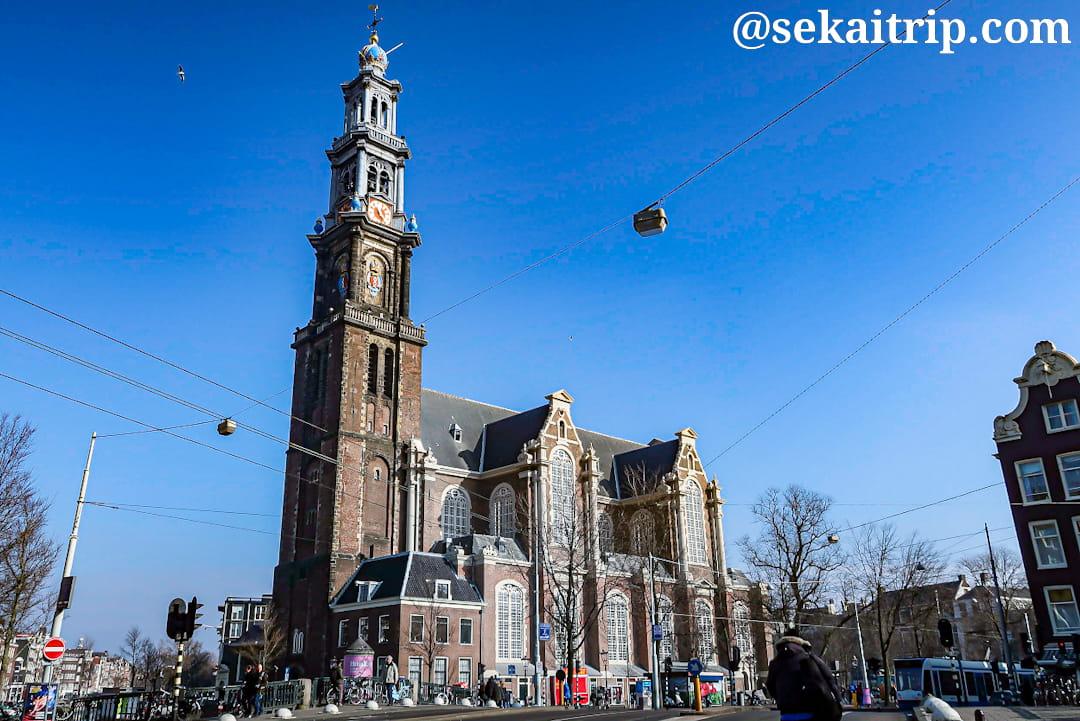 アムステルダムの西教会(Westerkerk)